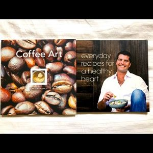 Coffee Art and Healthy recipe Books
